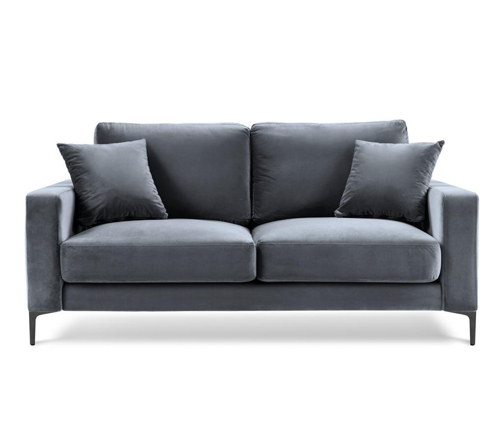 Canapea 2 locuri Harmony Dark Grey