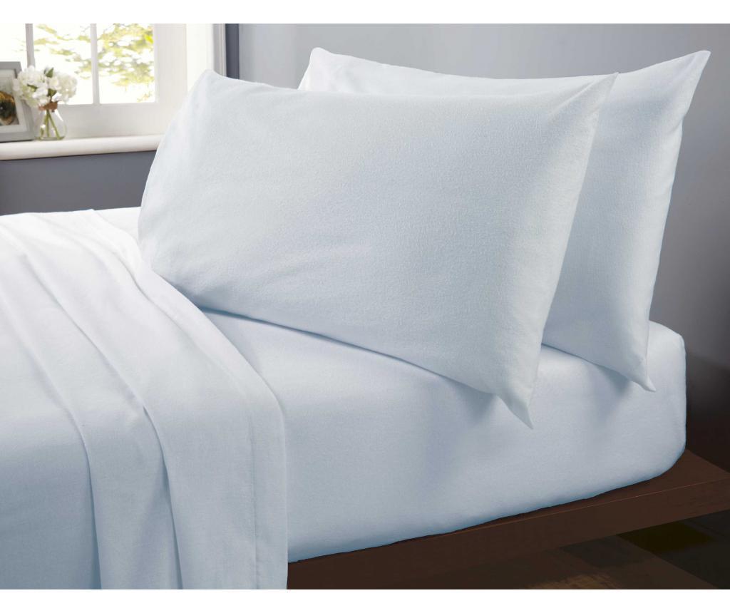 Set 2 jastučnice Flannelette Blue