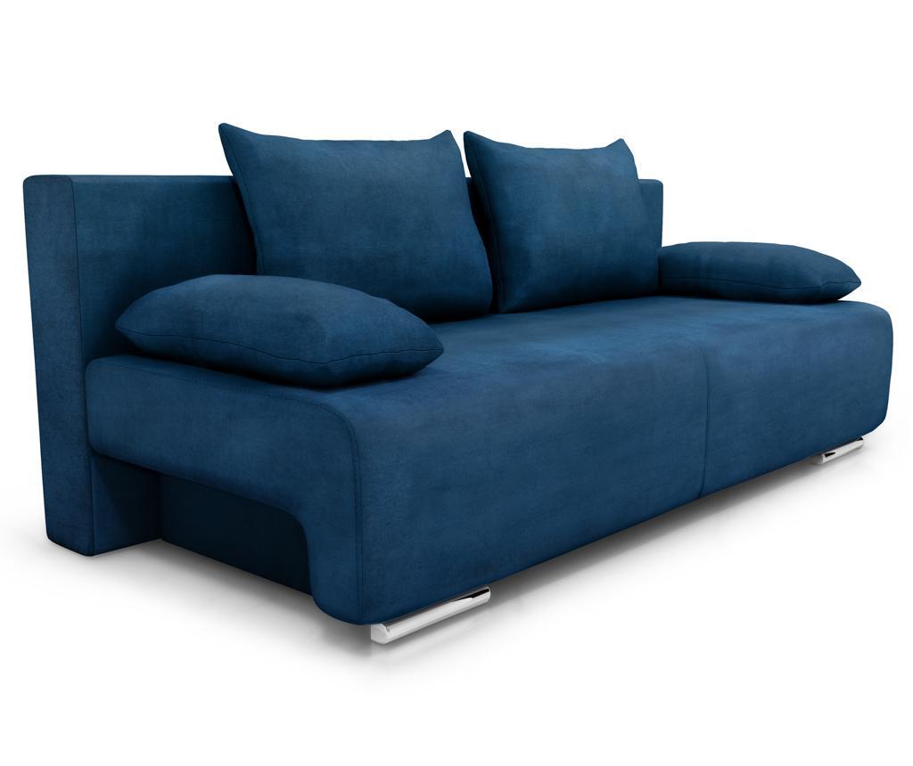 Rozkładana kanapa trzyosobowa Georgia Soho Turquoise