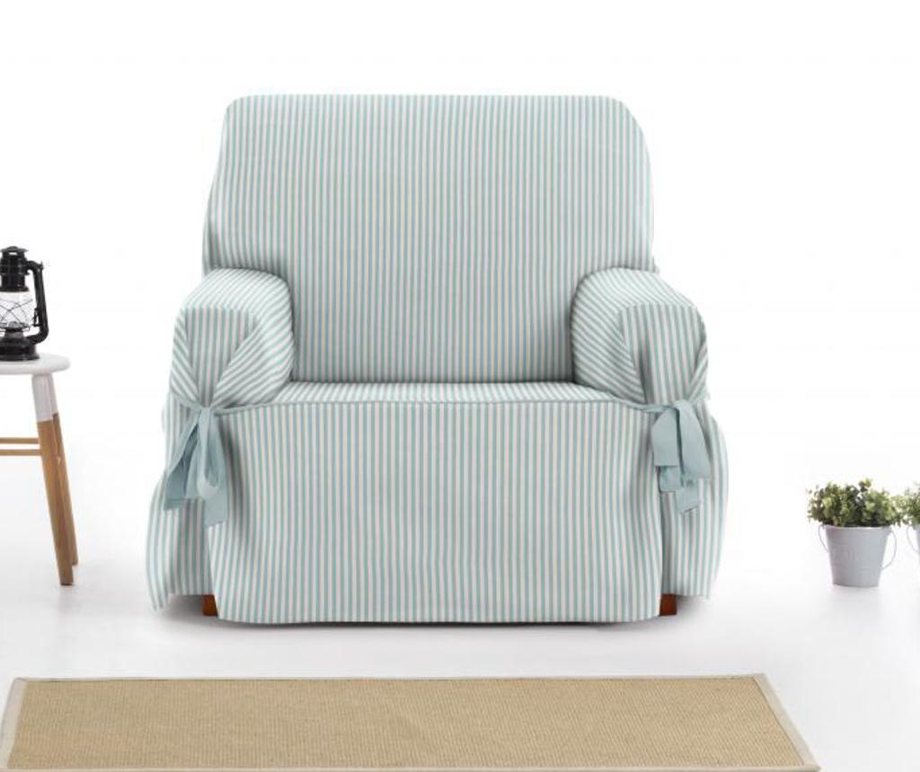 Pokrowiec na fotel Calma Blue 80x45x50 cm