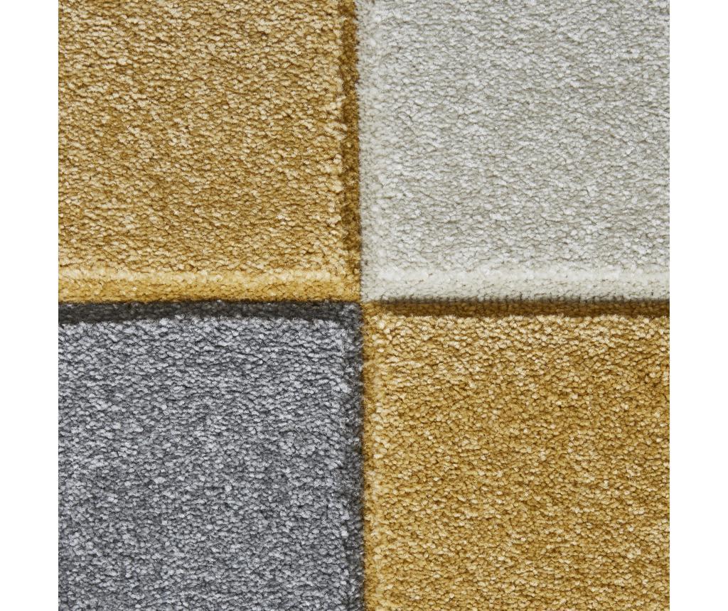 Covor Matrix Grey Yellow 160x220 cm