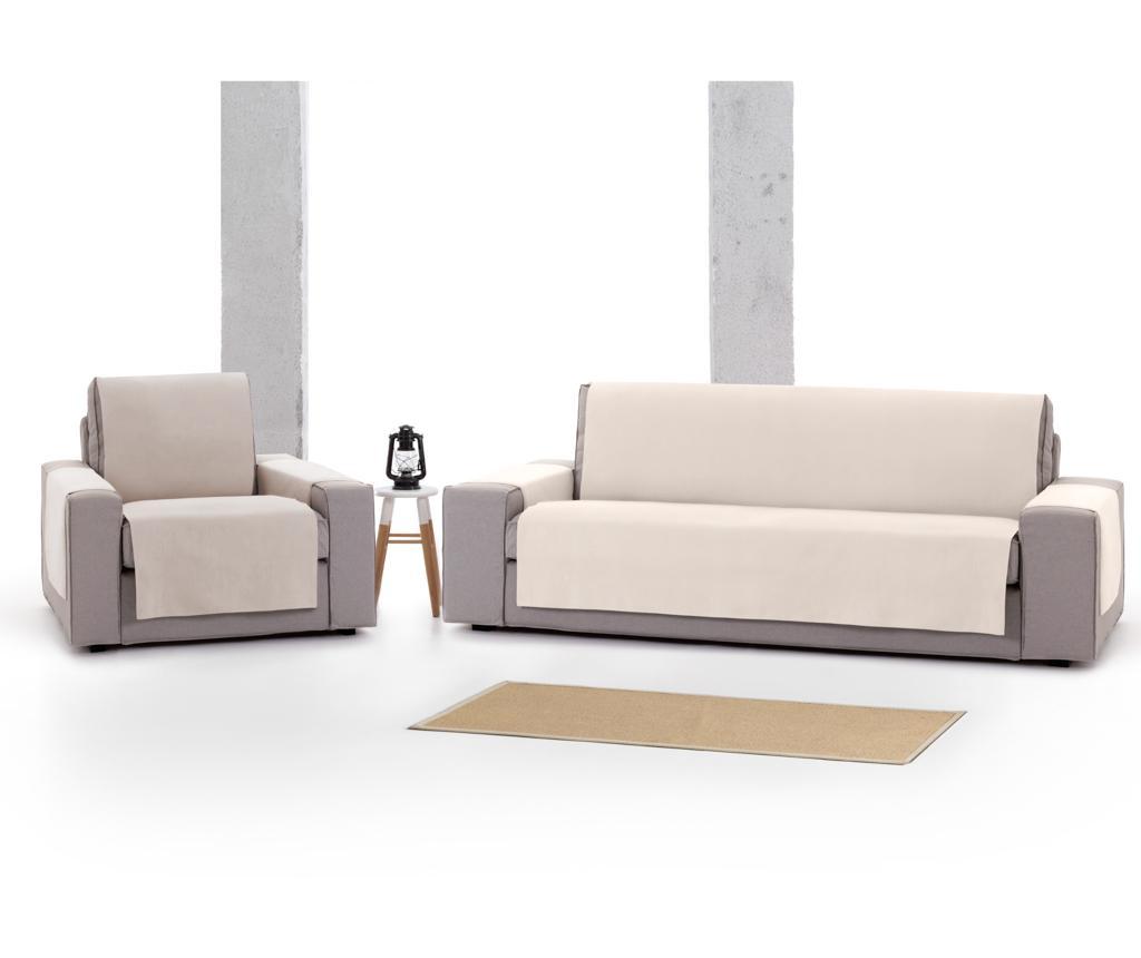 Husa pentru canapea cu 3 locuri Levante Cream 155x95x220 cm