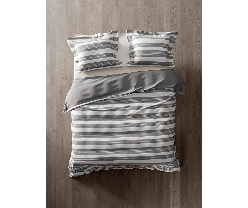 Set de pat Double Thabia Grey