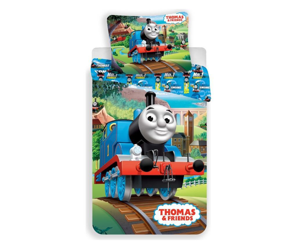 Set de pat Single Ranforce Thomas and Friends