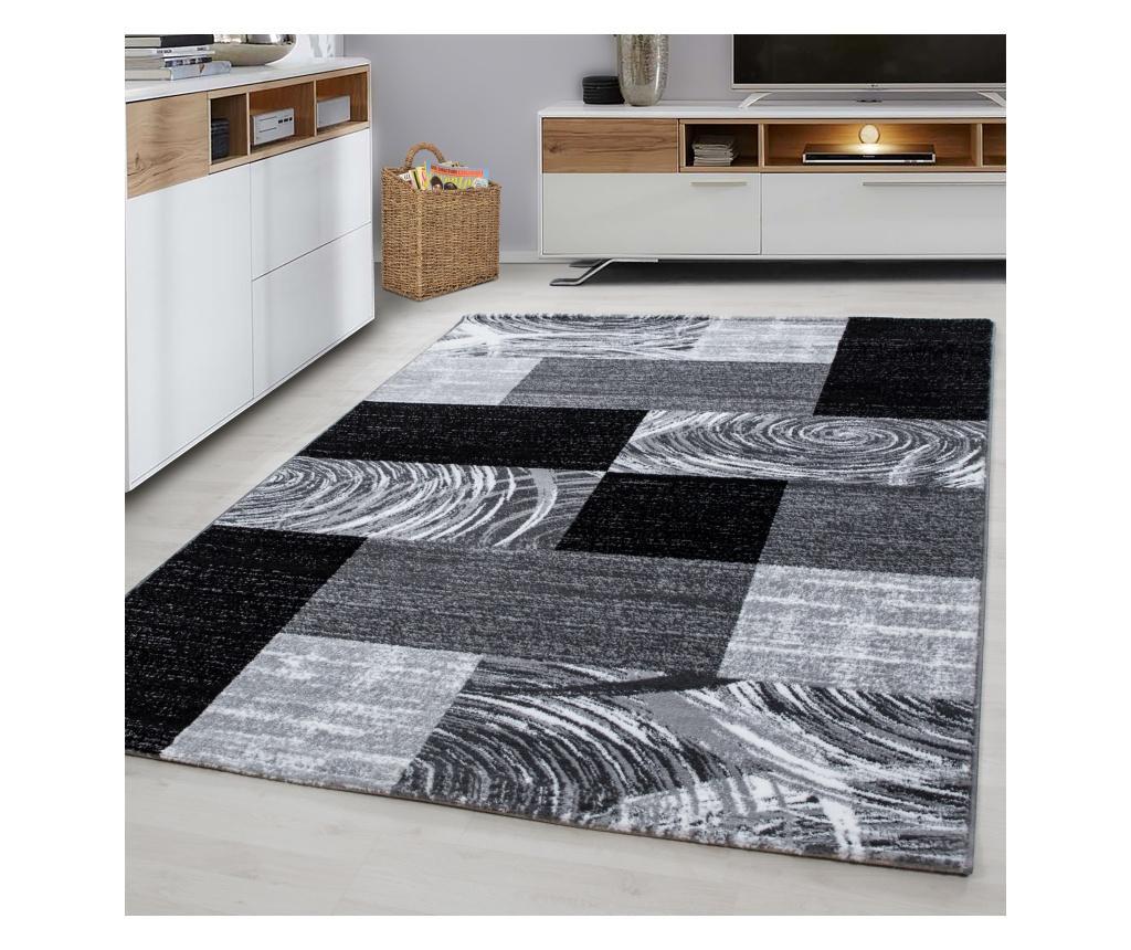 Covor Parma Black 160x230 cm