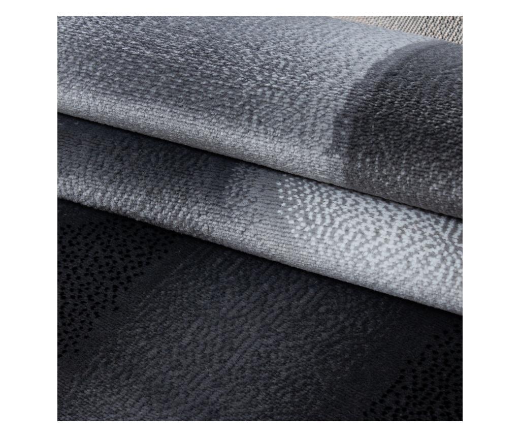 Dywan Plus Black 80x300 cm