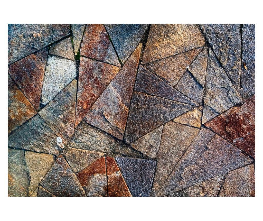 Tapet Pavement Tiles (Colourful) 245x350 cm