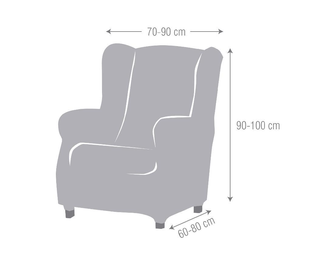Elastična navlaka za fotelju Ulises Beige 70x60x90 cm