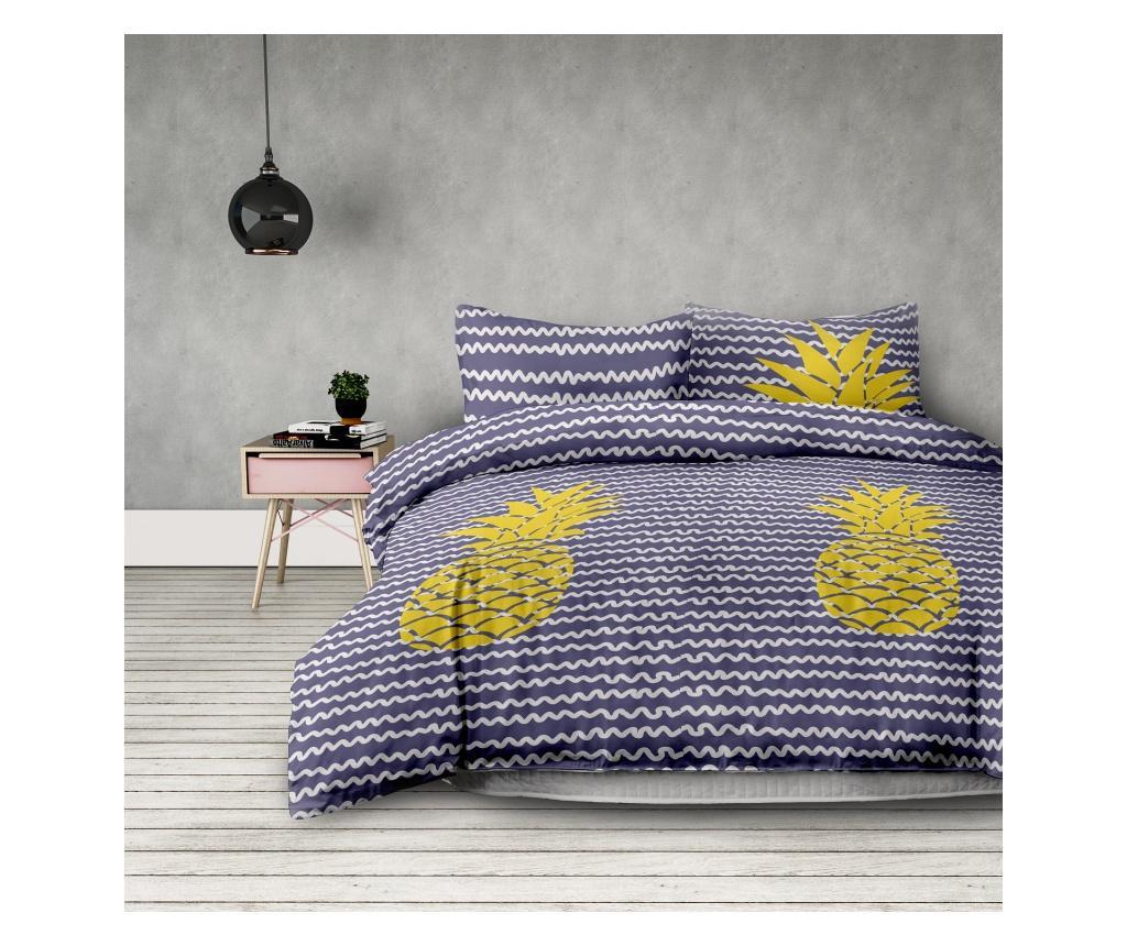Set posteljina Single Supreme Extra Pineapple