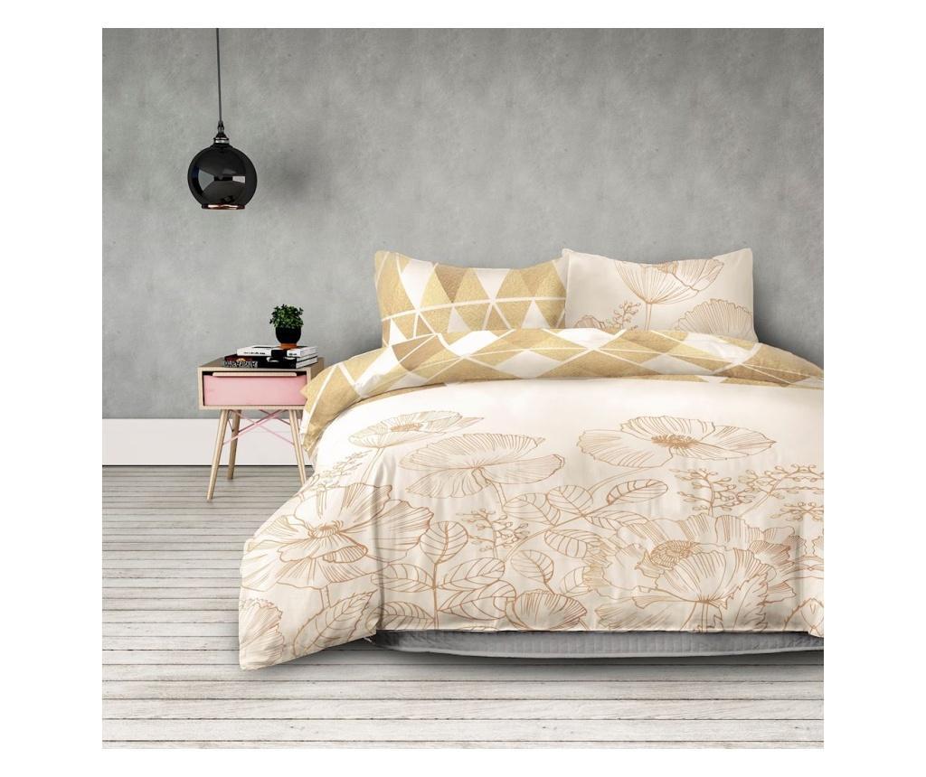 Set de pat Double Extra Flannel Golden Poppy