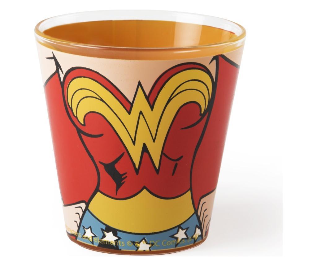 Pahar pentru apa Wonder Woman 250 ml