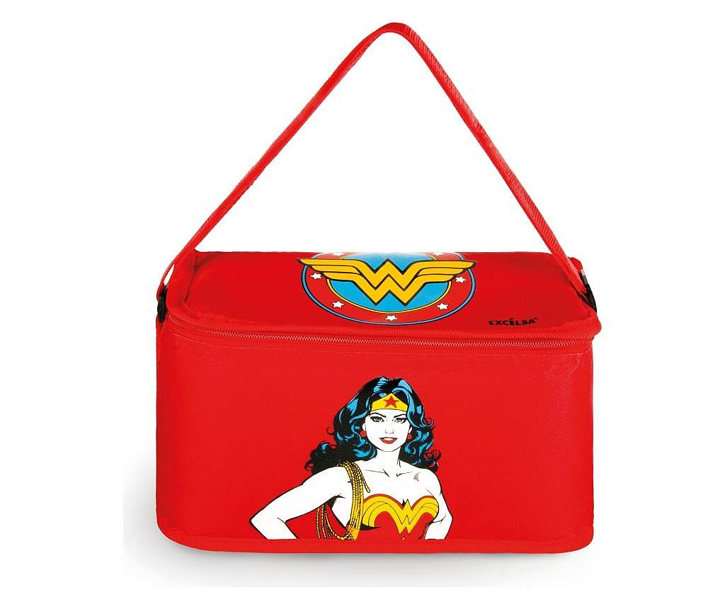 Geanta pentru pranz Wonder Woman 7L