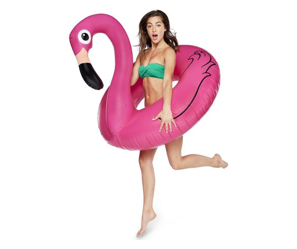 Colac pentru inot Big Mouth Flamingo