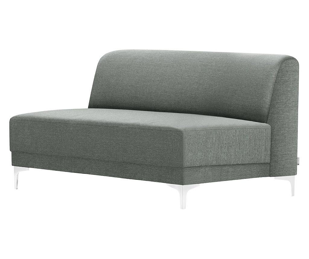 Canapea 2 locuri Allegra Grey