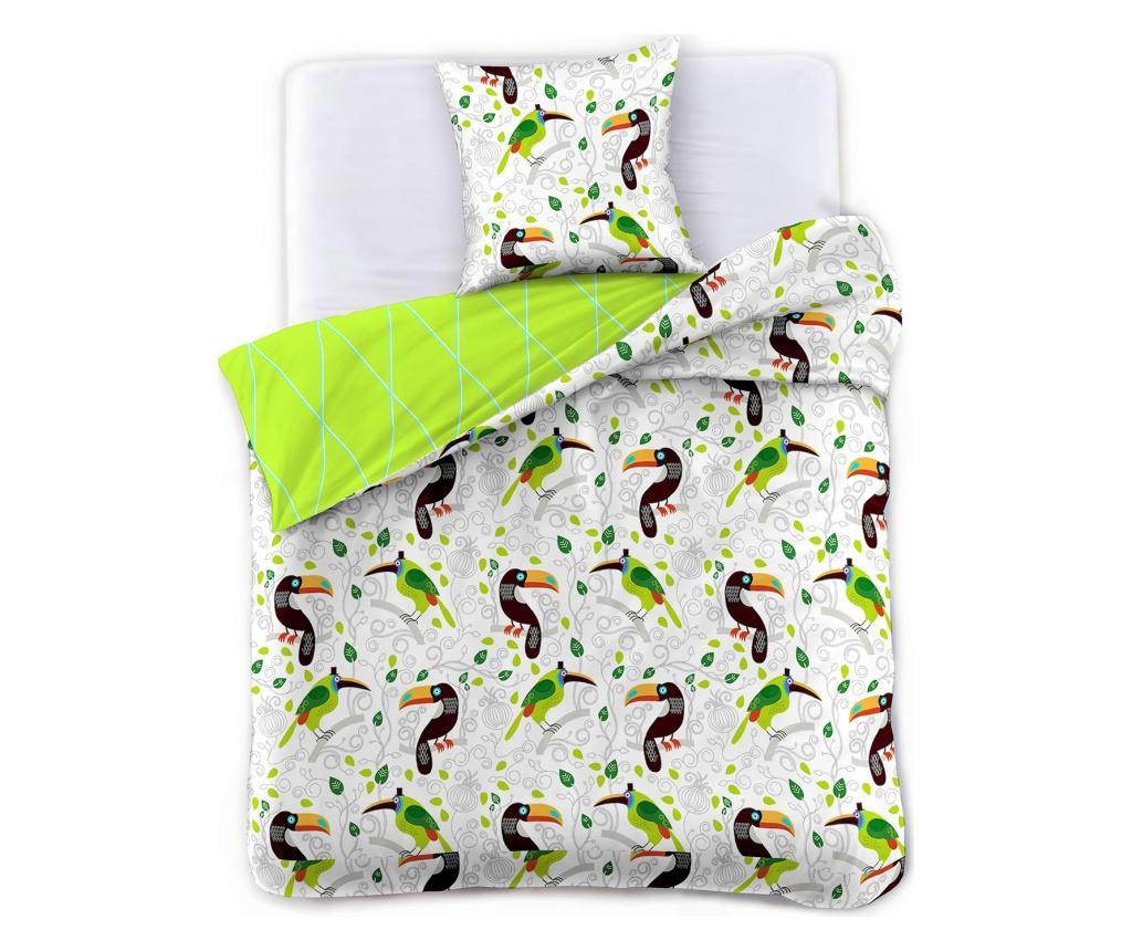Set de pat Double Toucan