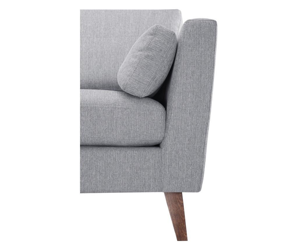 Canapea 3 locuri Elisa Grey