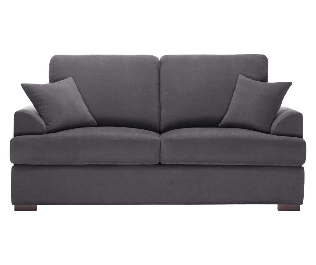 Canapea extensibila 2 locuri Irina Anthracite
