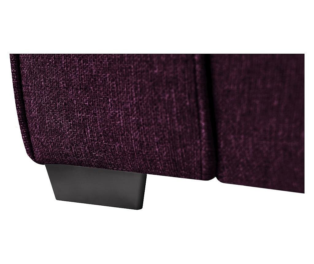 Canapea 2 locuri Ivy Plum