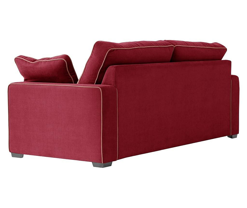 Canapea 3 locuri Serena Glamour Red