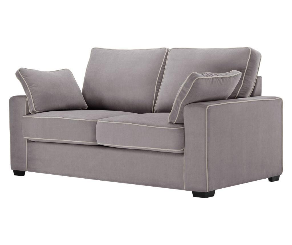 Canapea extensibila 2 locuri Serena Ashen Brown