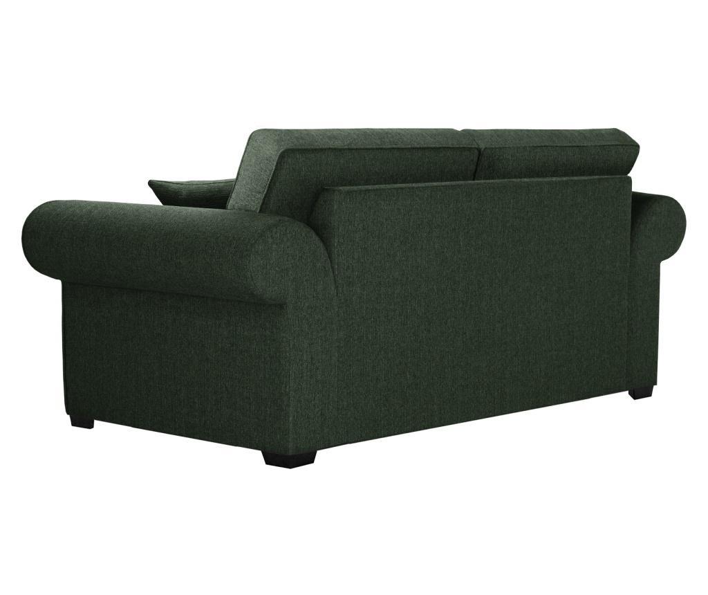 Canapea 2 locuri Ivy Dark Green