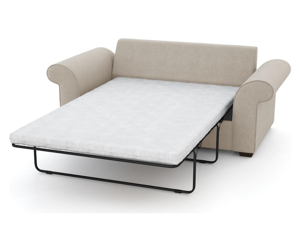 Canapea extensibila 2 locuri Ivy Cream