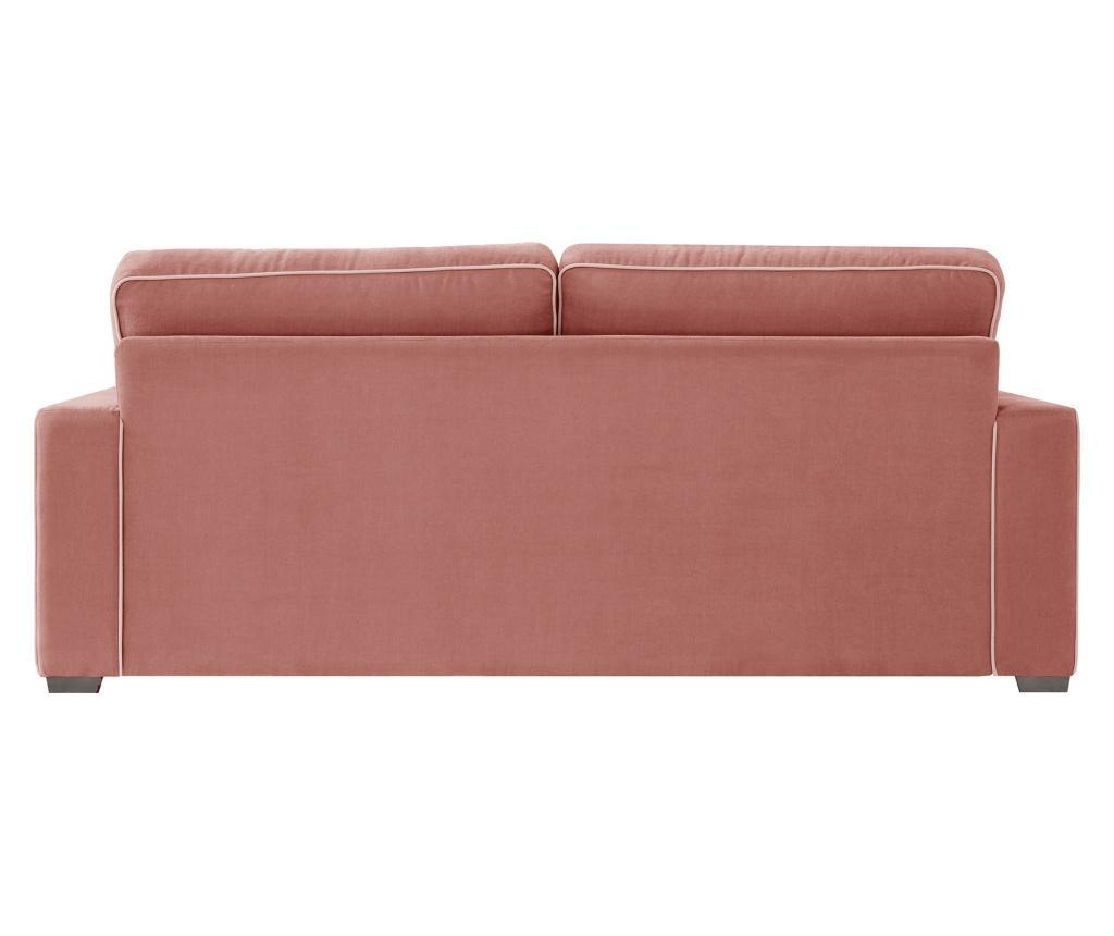 Canapea 3 locuri Serena Peach Rose