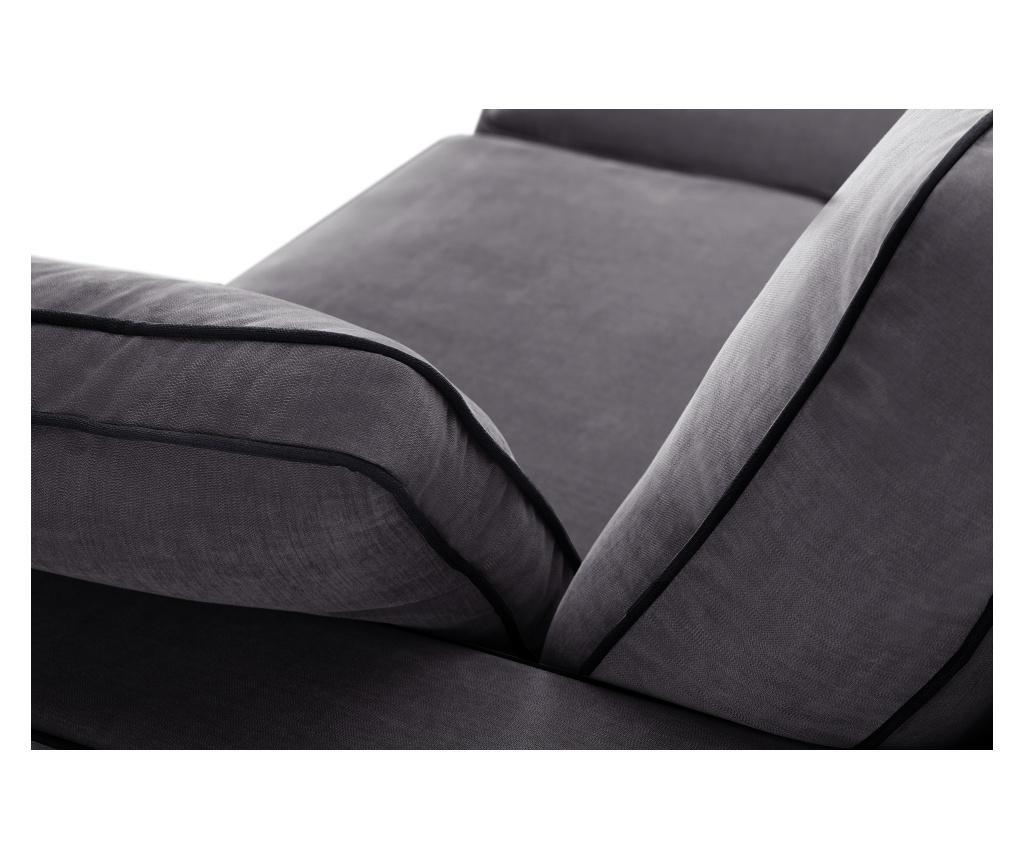 Rozkładana kanapa dwuosobowa Serena Anthracite