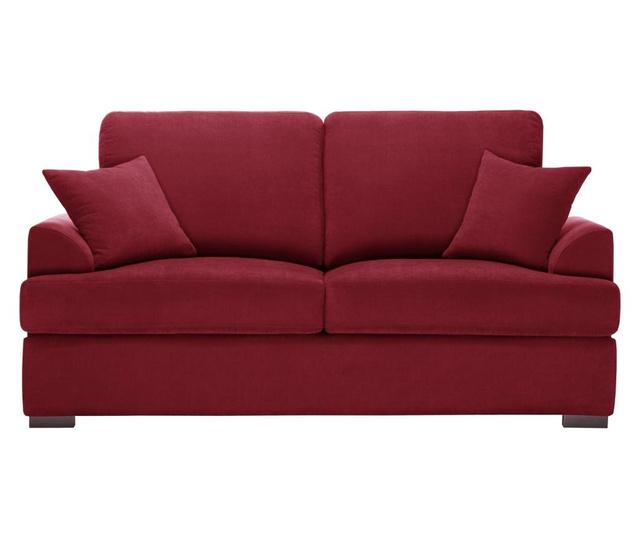 Canapea extensibila 2 locuri Irina Glamour Red