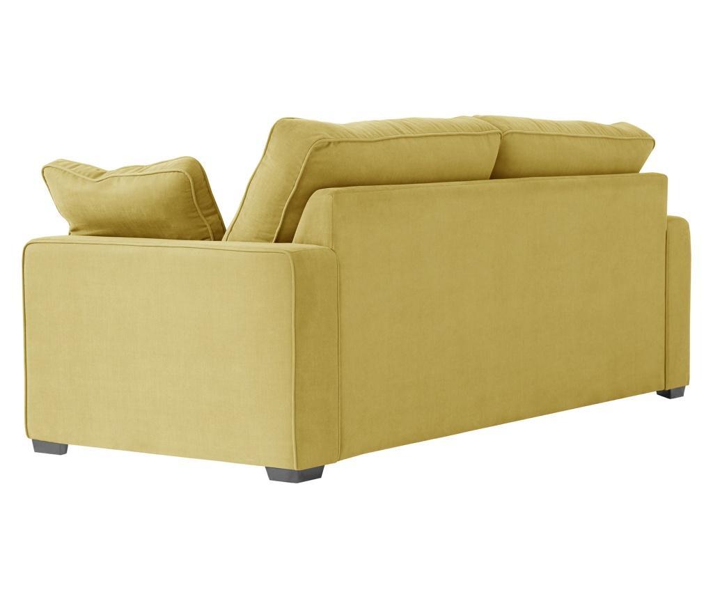 Canapea 3 locuri Serena Yellow