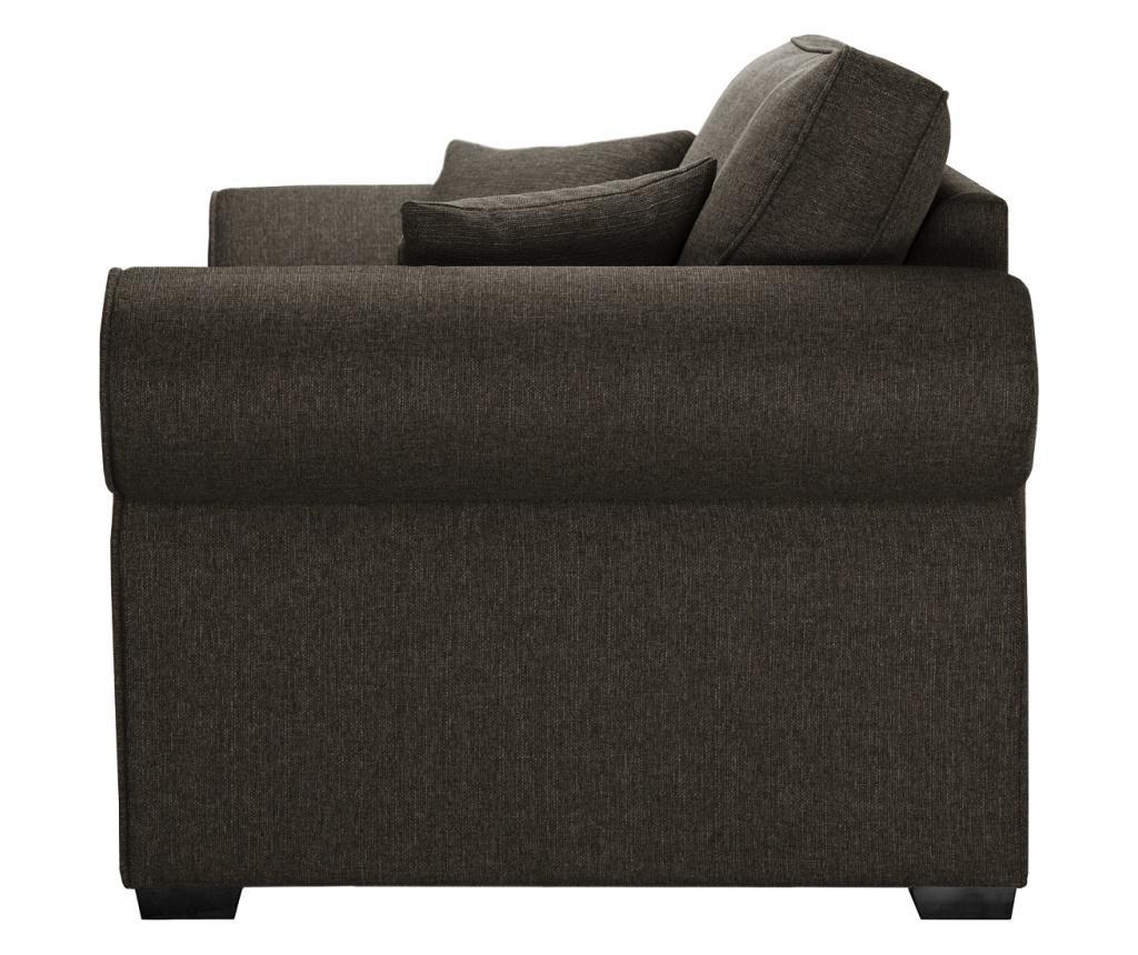Canapea extensibila 2 locuri Ivy Light Brown