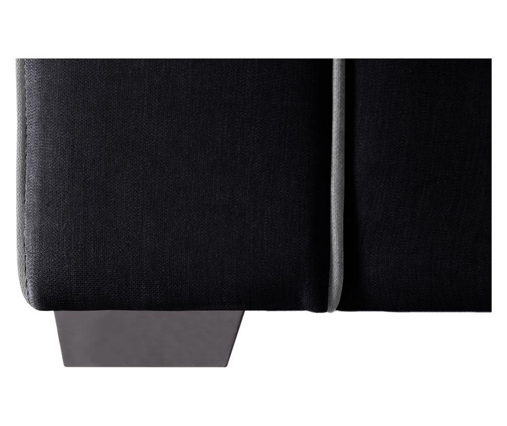 Canapea 3 locuri Serena Black