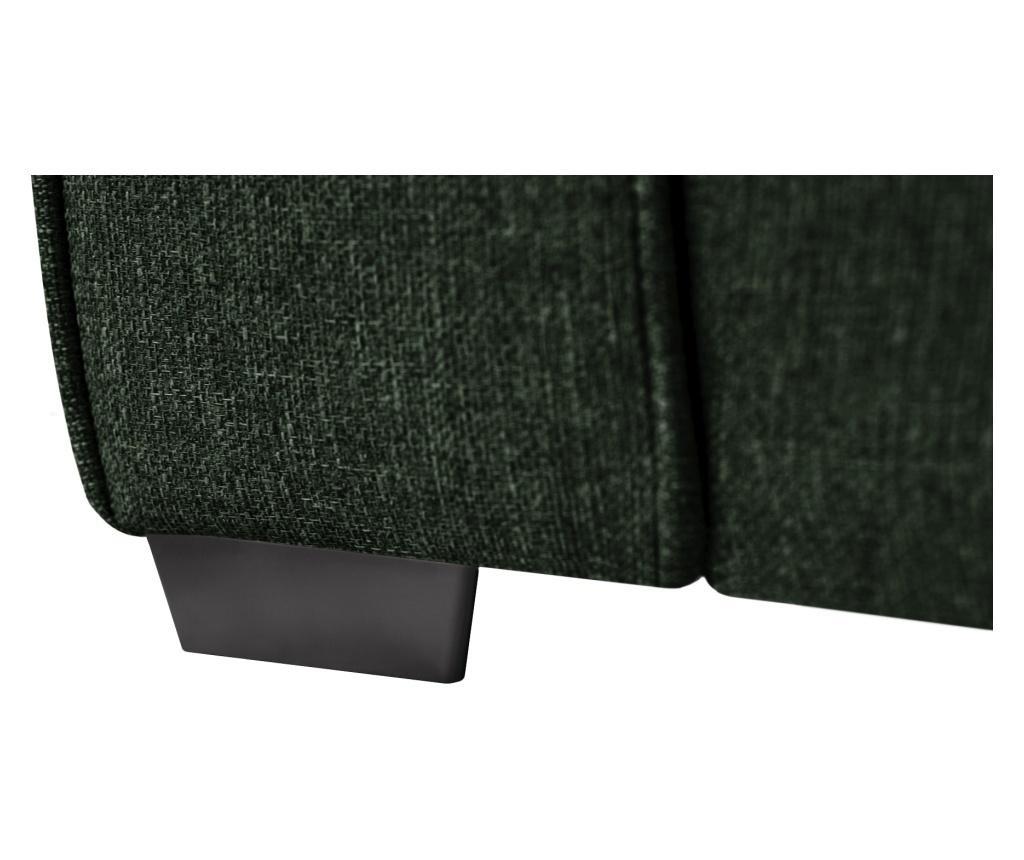 Dvoumístná rozkládací pohovka Ivy Dark Green