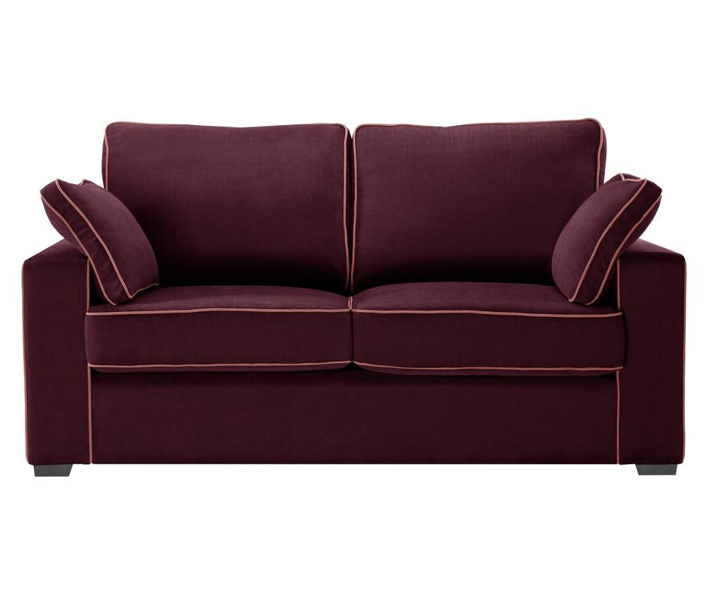 Canapea extensibila 2 locuri Serena Bordeaux