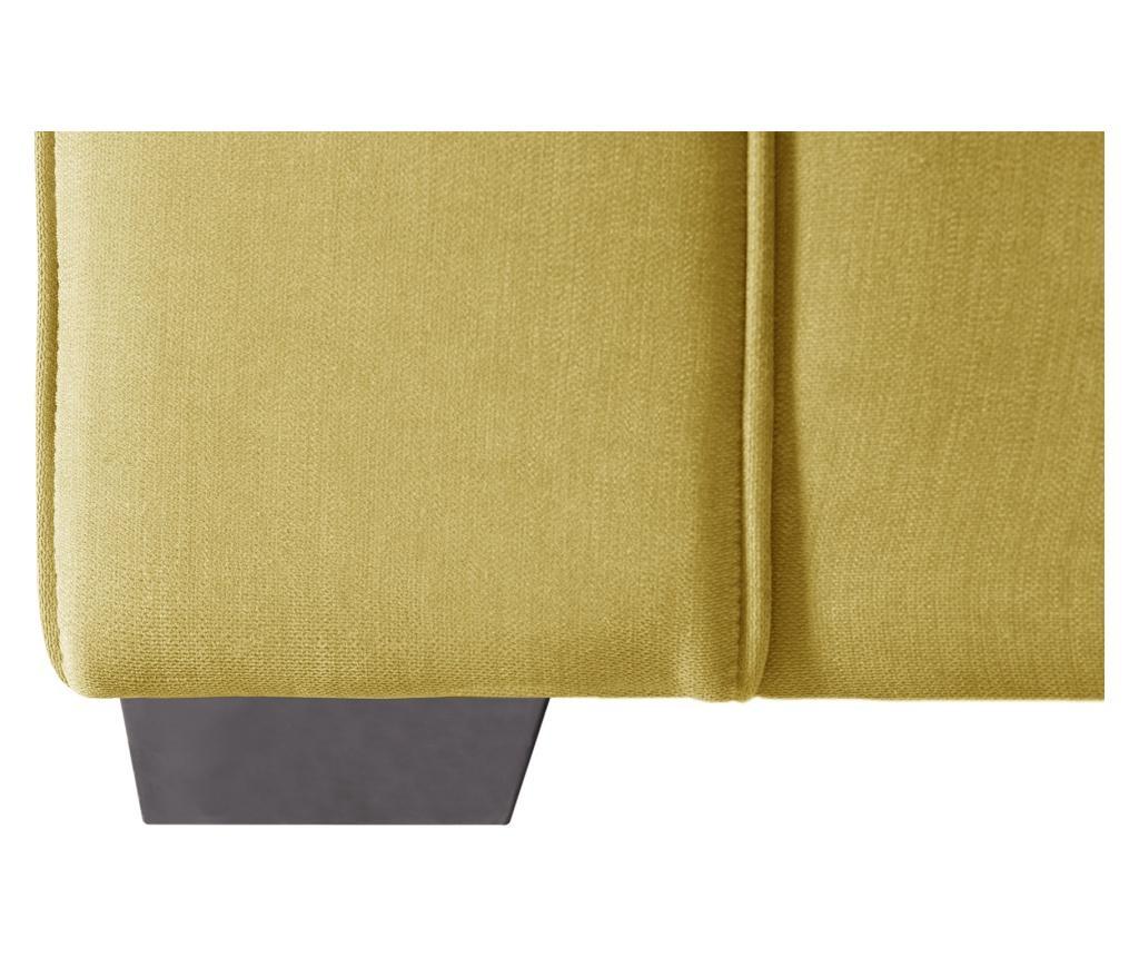 Rozkładana kanapa dwuosobowa Serena Yellow