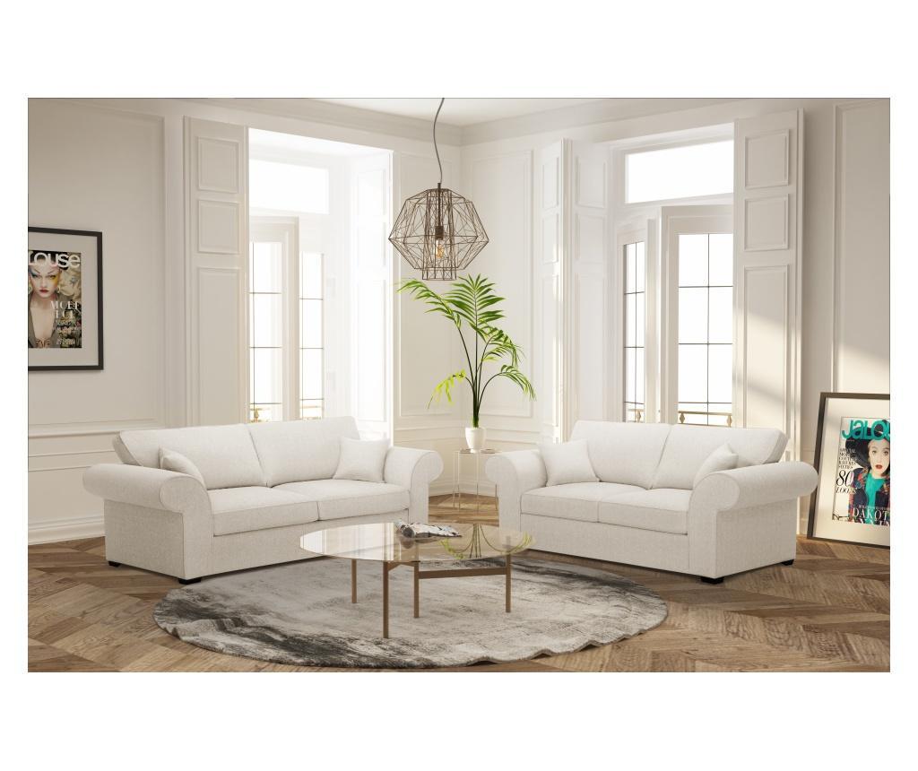Canapea 2 locuri Ivy Cream