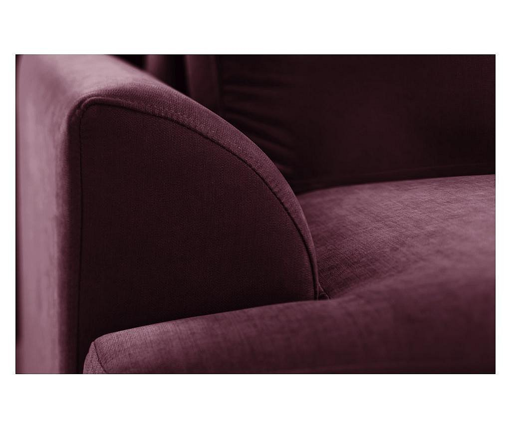 Canapea extensibila 2 locuri Irina Bordeaux