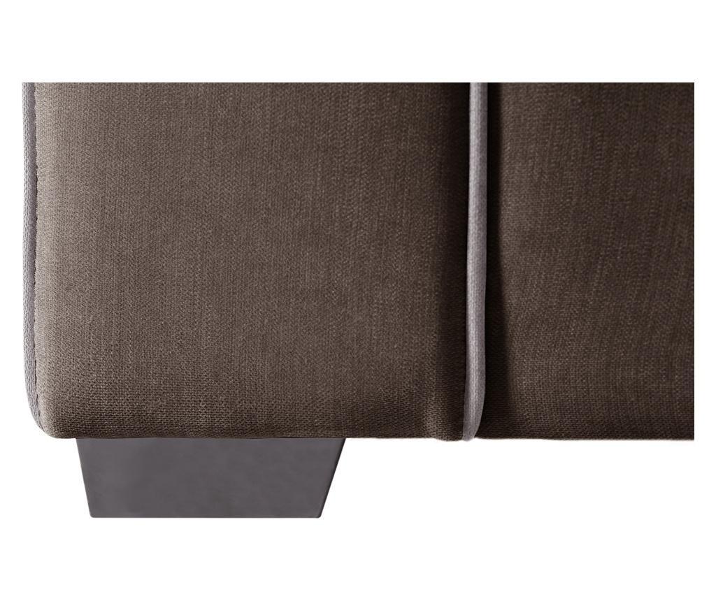 Canapea extensibila 2 locuri Serena Brown