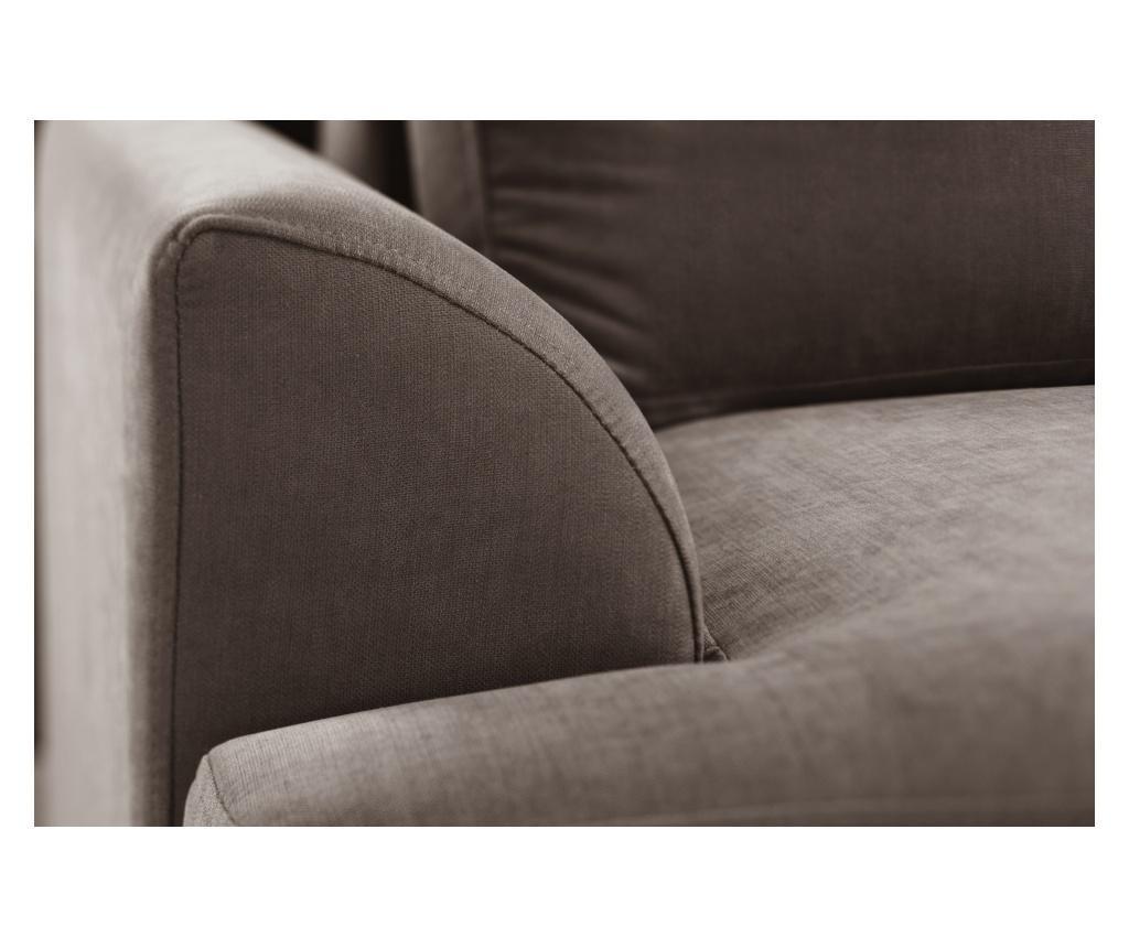 Canapea extensibila 2 locuri Irina Chocolate