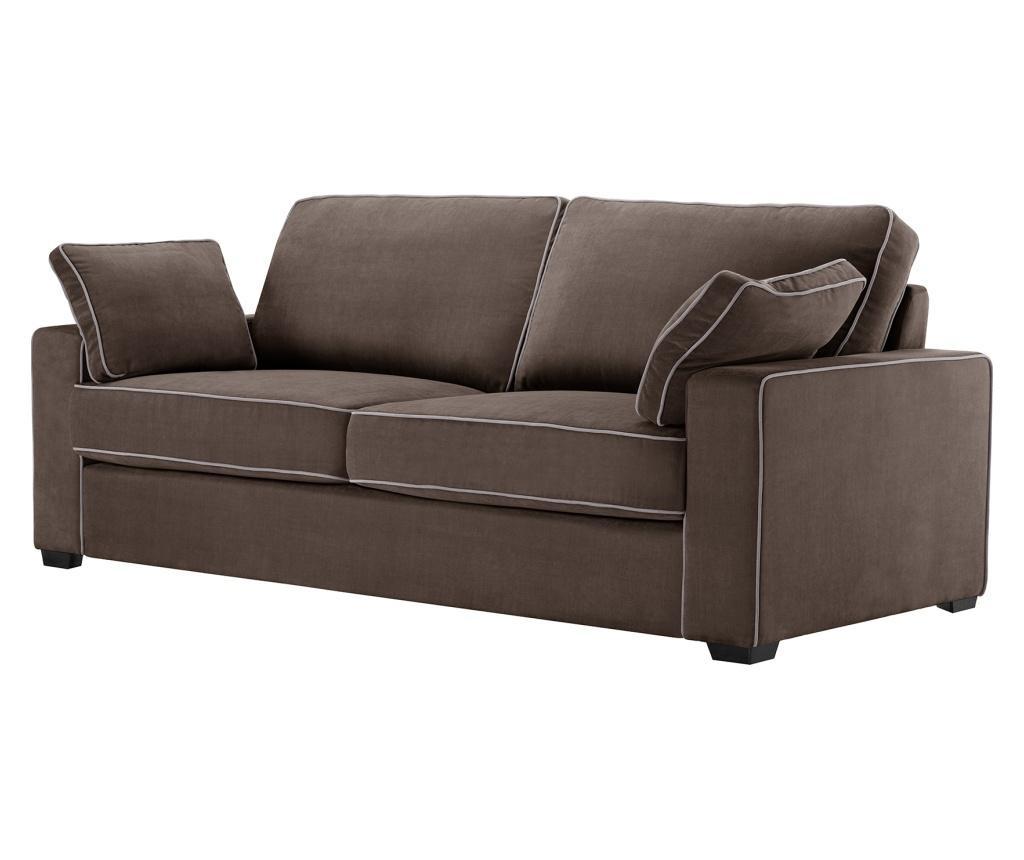 Canapea 3 locuri Serena Brown