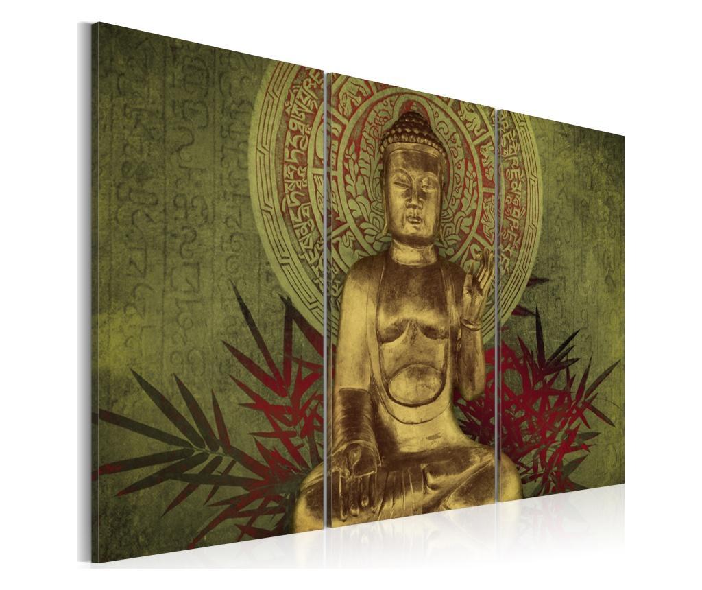 Set 3 tablouri Saint Buddha 90x60