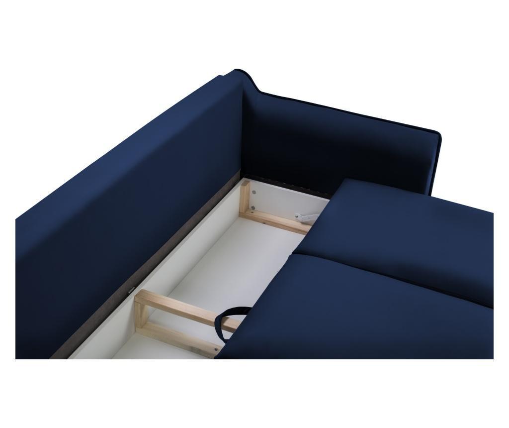 Rozkładana kanapa 3-osobowa Basso Royal Blue