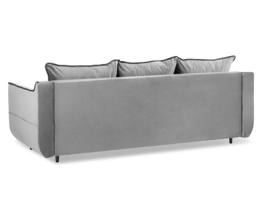 Rozkładana kanapa 3-osobowa Basso Light Grey