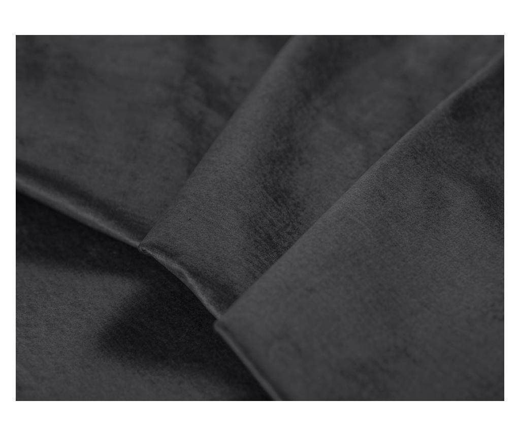 Coltar extensibil dreapta Deneb Dark Grey