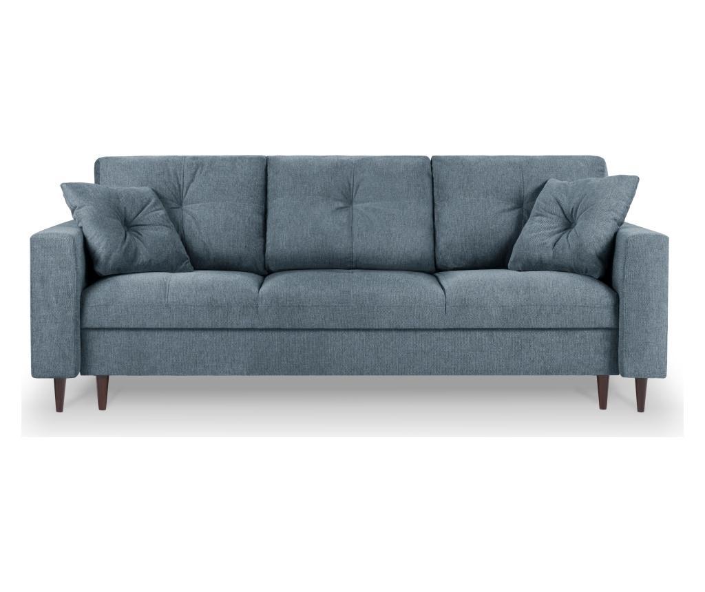Rozkładana kanapa 3-osobowa Tempo Blue