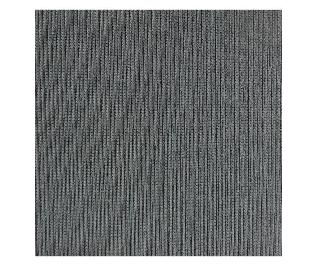 Husa sezlong living dreapta Chenille Grey 240x95x150 cm