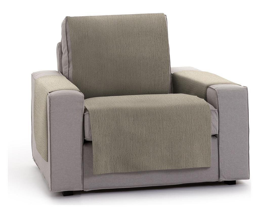 Navlaka za fotelju Chenille Salva Taupe 55x95x220 cm