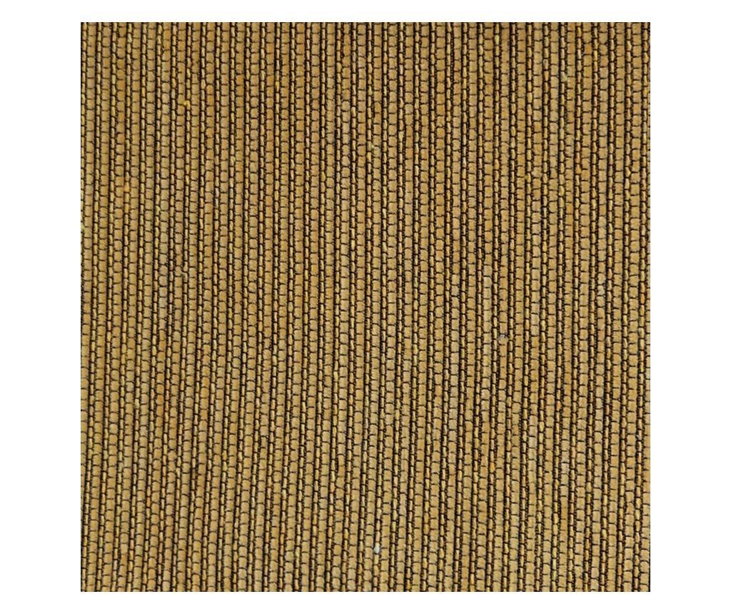 Regulowany pokrowiec na kanapę 2-osobową Chenille Ties Mustard 180x45x50 cm
