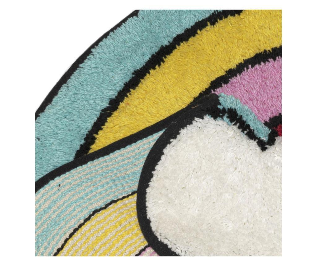 Dywanik łazienkowy Magic Rainbow 48x74 cm