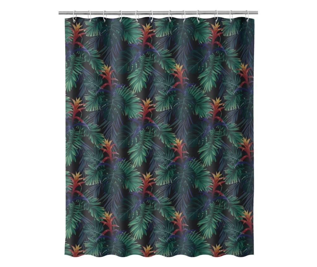Zasłona prysznicowa Guzmania 180x200 cm